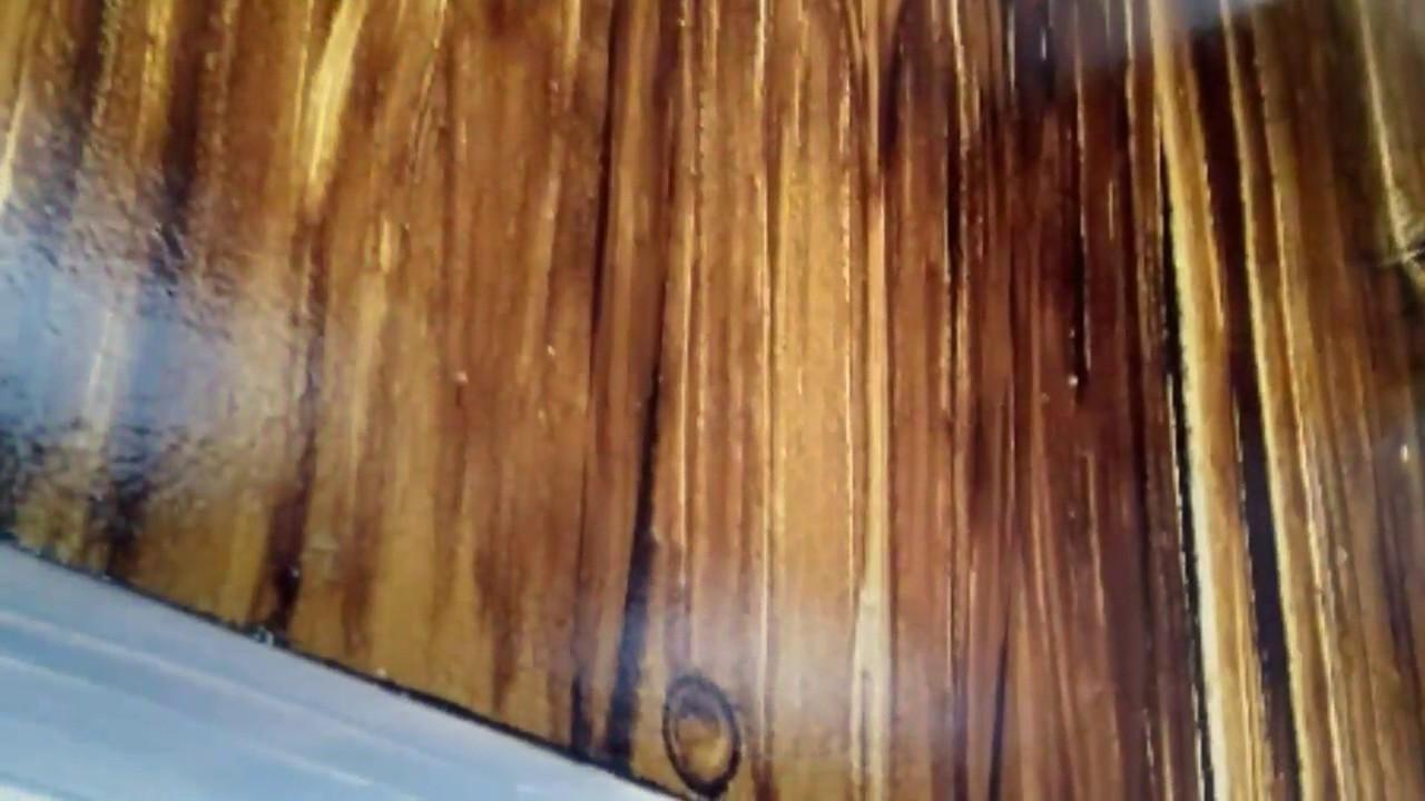 Efeito madeira cor Imbuia em gesso  YouTube