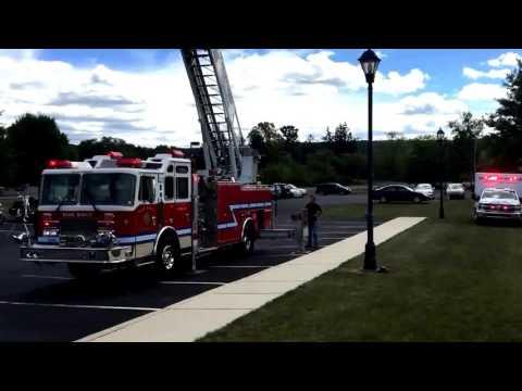 WTC 9/11 Remnant Ceremony at the Western Pocono Public Library Brodheadsville 9/11/2016