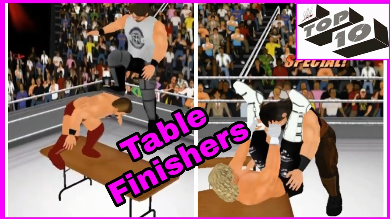 Table Finishers   WR3D by SAM VID 2K19 WR3D mod link - WR3D GAME!