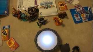 Skylanders Spyro's Adventure Mega Pack Wii Unboxing
