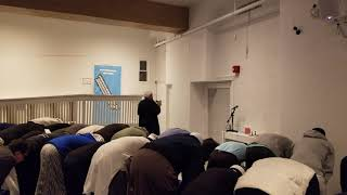 Fajr prayer with Imam Safi Khan