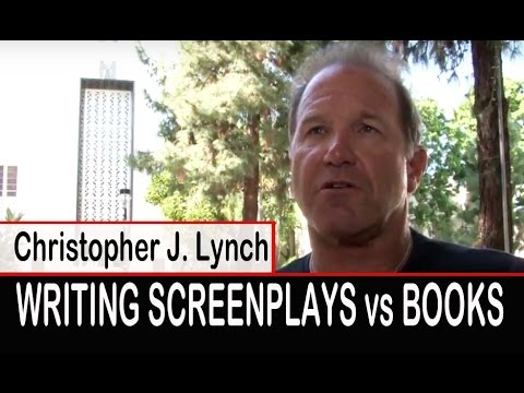 Screenwriting vs Books - Author Christopher J. Lynch Interview