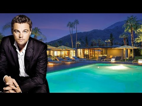 Leonardo DiCaprio 5.2 million house in Palm Springs, California (Inside and Outside)