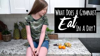 What Does a Competitive Gymnast Eat In A Day?