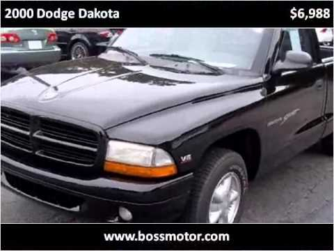 2000 Dodge Dakota Used Cars Eden Nc Youtube