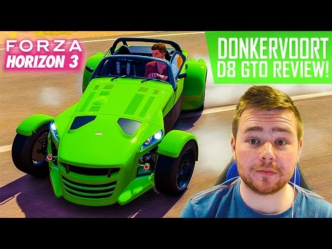 DONKERVOORT D8 GTO REVIEW - PLEASE STOP DRIFTING! - Forza Horizon 3 Fuelled Up! Ep.28