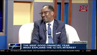 What explains the NSSF 12.15% interest?   ON THE SPOT