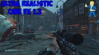 Fallout 4 Обзор мода Ultra Realistic CiNE FX 1.3 Nexus Mods Охрененно красиво