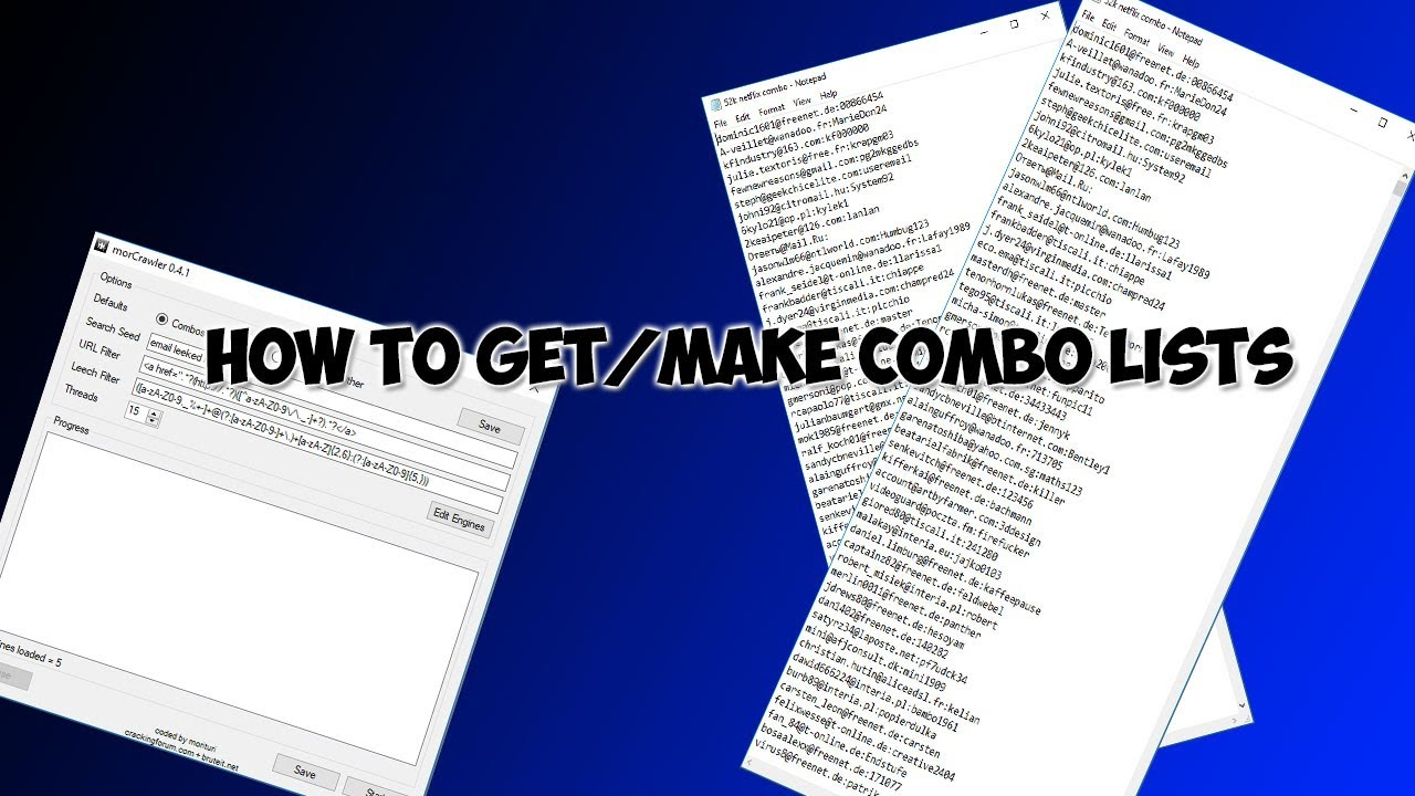 How To Get Combo Lists For Free!!