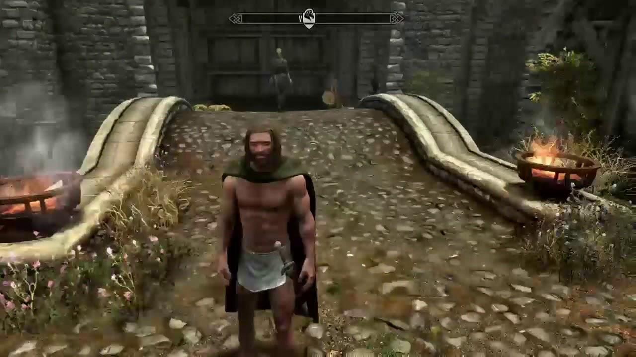 Skyrim Se Mod 3 Cloaks Capes By Volvaga0 Youtube