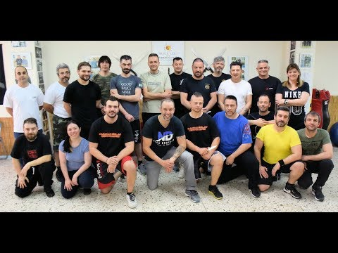 Nick Drossos Knife Defense Seminar Athens Greece