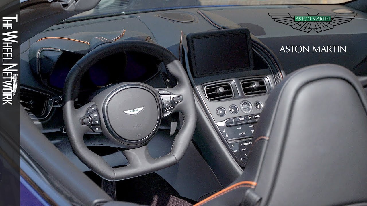 2020 Aston Martin Dbs Superleggera Volante Interior Youtube