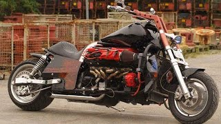 The Biggest Motorcycles Engines in the World