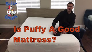 Go here for the full review: https://sleepsherpa.com/puffy-mattress...