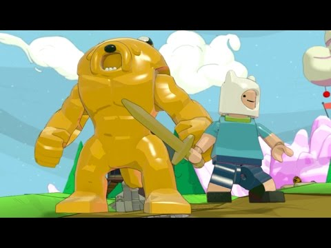 LEGO Dimensions - Jake the Dog - All Transformations (Adventure Time)