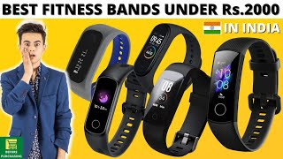 Top 5 best fitness band under 2000   Best fitness band in India   best fitness band 2020