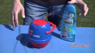 No-Spill Bubble Machine from Little Kids