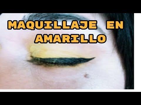 Maquillaje sombra amarilla Sophx