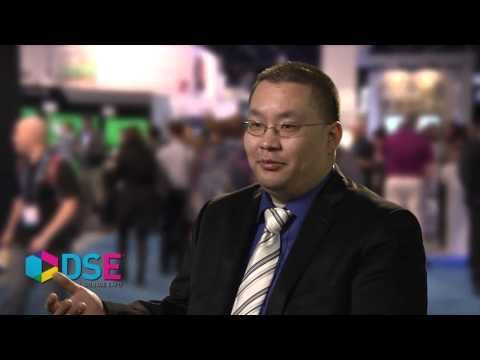 Lawrence Chang of Calgary Telus Convention Centre at DSE 2013