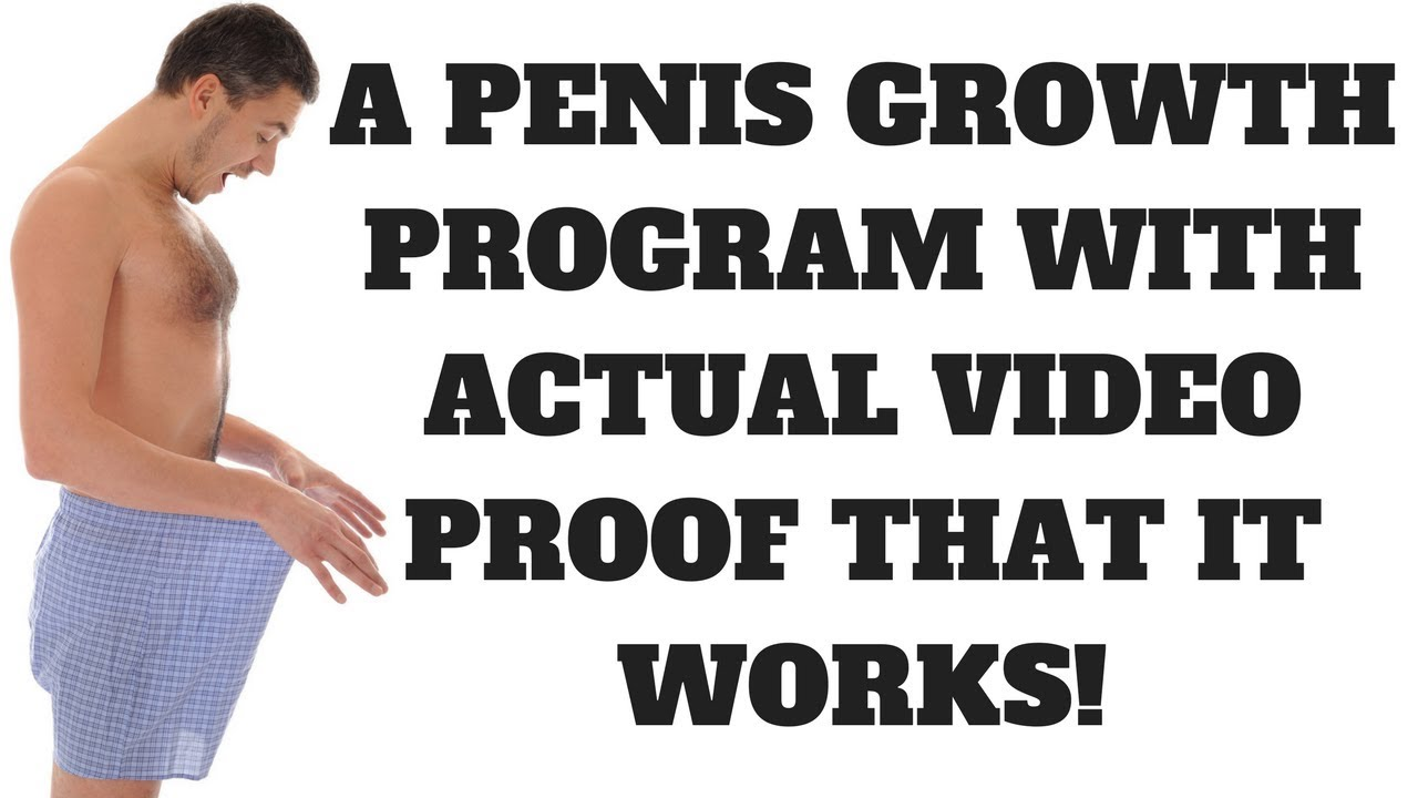 Actual Penis Growth