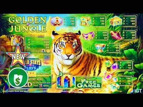 ⭐️ New - Golden Jungle Slot Machine, Bonus