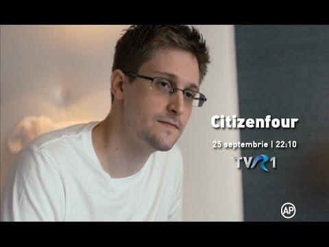 Citizenfour, un documentar cu Edward Snowden, la TVR1