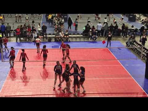 Tour of TX Qualifier:  Skyline BLK SET1 vs 360 Volleyball FW16.1