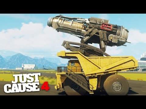 WEATHER CONTROL VEHICLE! - Just Cause 4 Challenges & Stunts!
