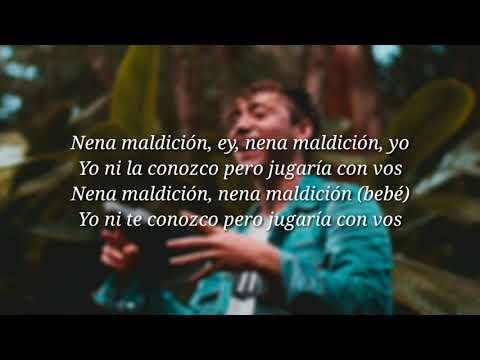 Paulo Londra - Nena Maldición (letra + descarga)