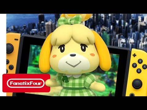 How can Animal Crossing use Nintendo Switch in 2019?