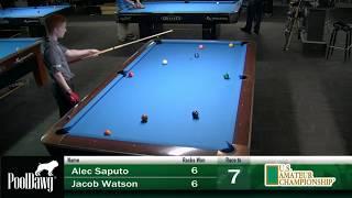 2018 US Amateur Championship - Jacob Watson VS Alec Saputo - Table 3