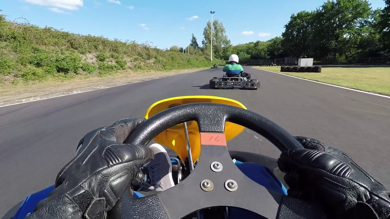 Simac Kart Cup 2017 Circuit Park Berghem Kwalificatie Race Deel1 Youtube