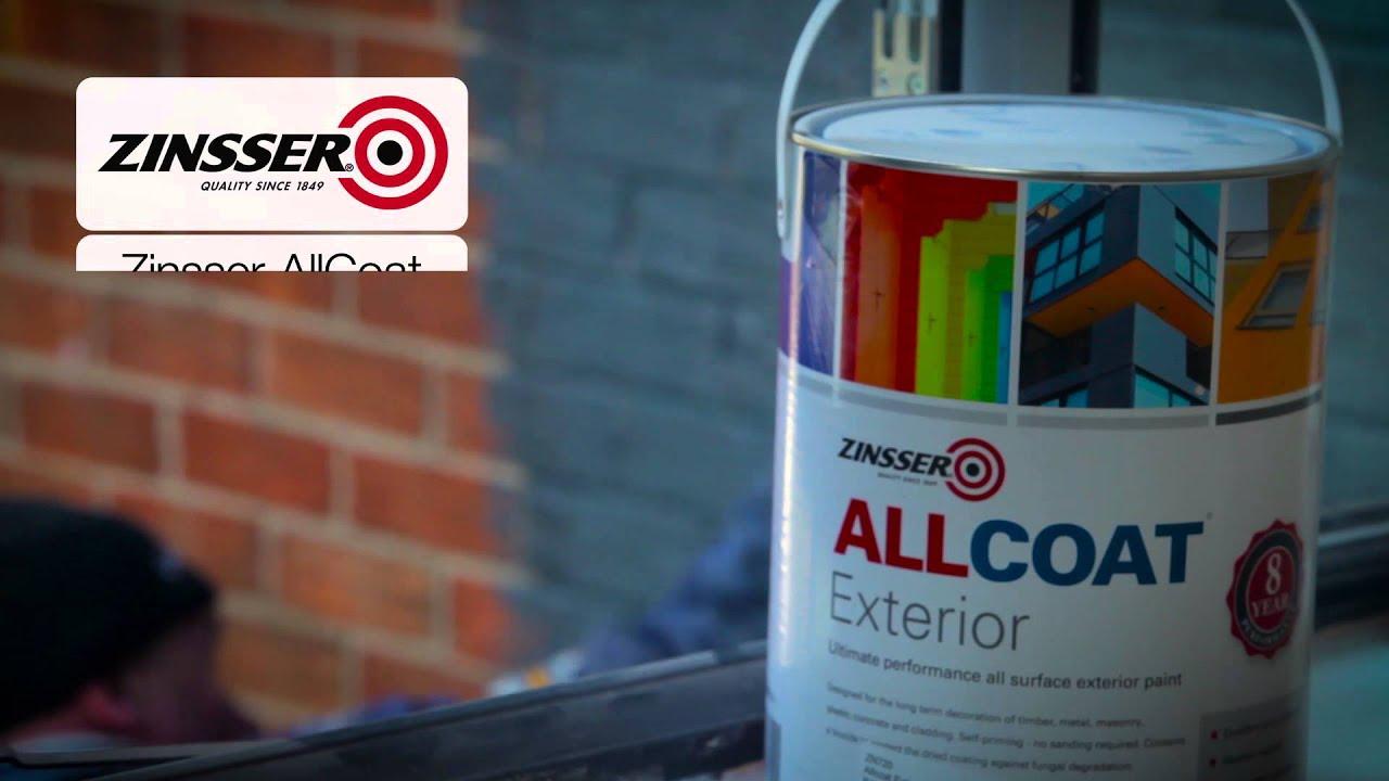 Zinsser AllCoat Exterior Paint