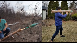 Fortnite Rocket Launcher in Real Life!