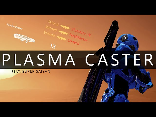 Halo 5 - Plasma Caster Unleashed // Solo Arena on Rig