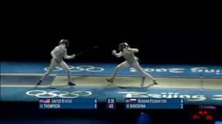 USA vs Russia - Fencing - Women