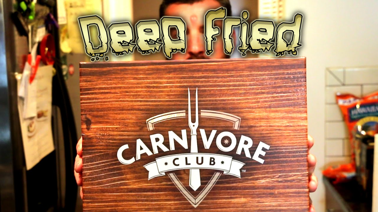 Deep Fried Meat From Carnivore Club