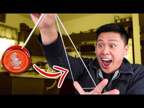 IMPOSSIBLE YO-YO TRICK SHOTS CHALLENGE!!!