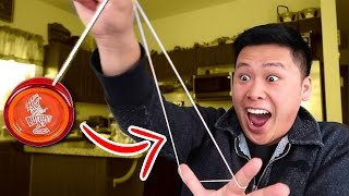 IMPOSSIBLE YO-YO TRICK SHOTS CHALLENGE!!!