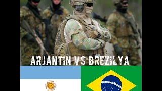 ARJANTİN vs BREZİLYA askeri güc karşılaştırma