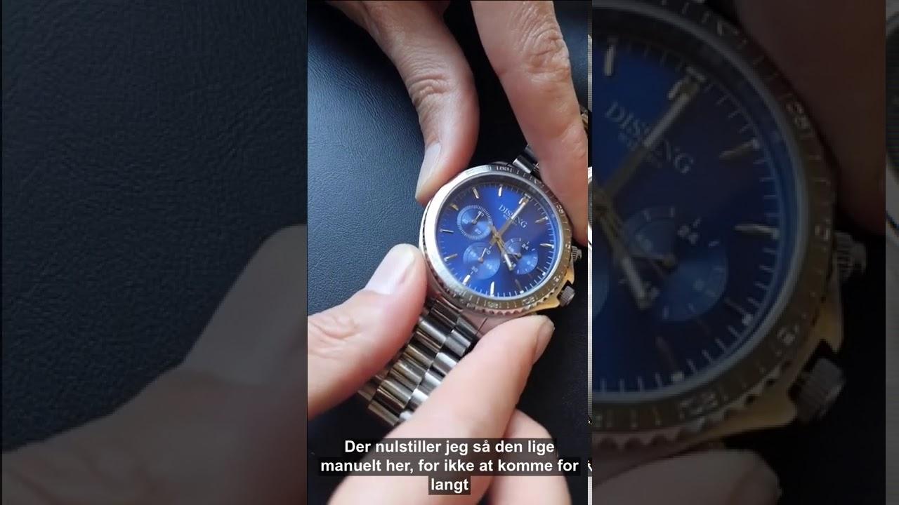 Hvordan virker et Chronograf urværk?