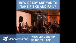How Ready Are You to Take Risks and Fail? -  Davos 2018 Fireside Challenge