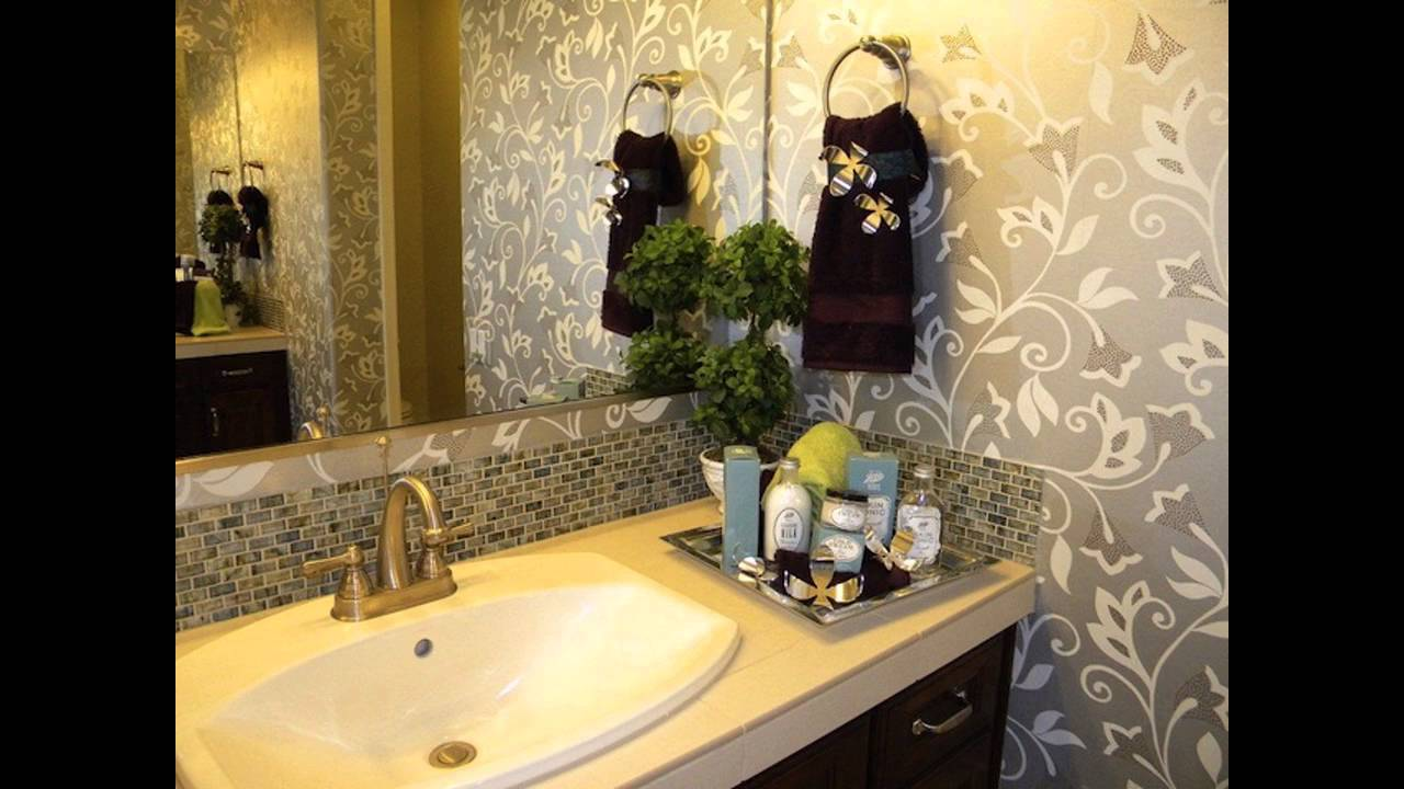charming decorative bathroom ideas nice look