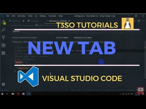 How to open file in new tab in Visual Studio Code
