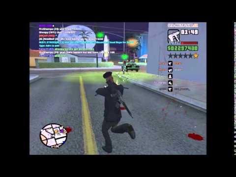 GTA San Andreas Multiplayer [69]JaY using aimbot hack :)