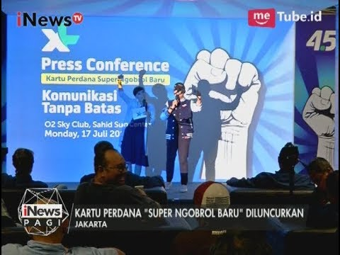 """XL Axiata Resmi Luncurkan Kartu Perdana Terbaru """"Super Ngobrol Baru"""" - iNews Pagi 20/07"""