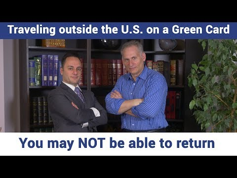 What Does It Mean To Have A Green Card And Can You Travel On A Green Card?
