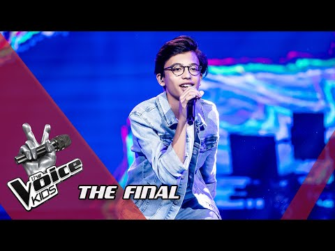 Justin – 'Bellyache' | The Final | The Voice Kids | VTM