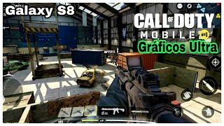 Call of Duty Mobile | Galaxy S8 | Gráficos al máximo