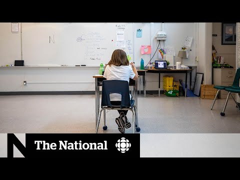 CBC News: The National: Uneasy road to getting students back to school full time this fall
